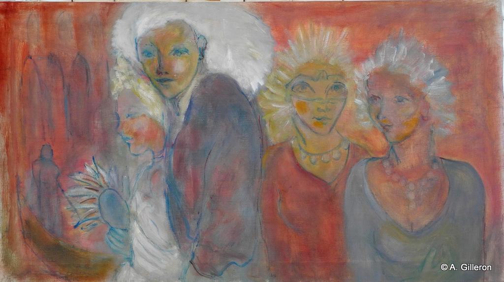 002 - Grand Carnaval - 50 x 90 cm - 650 €